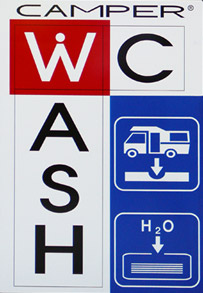 Camper Wash WC